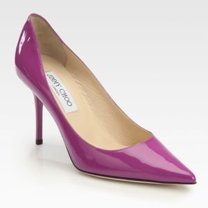 NWOT Jimmy Choo Agnes Patent Leather Pumps